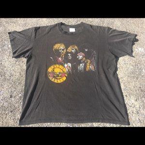 Guns Roses Vintage 80s Appetite  Destruction Shirt